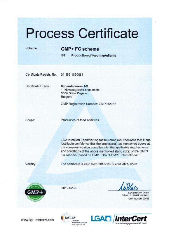 GMP + certificate-01